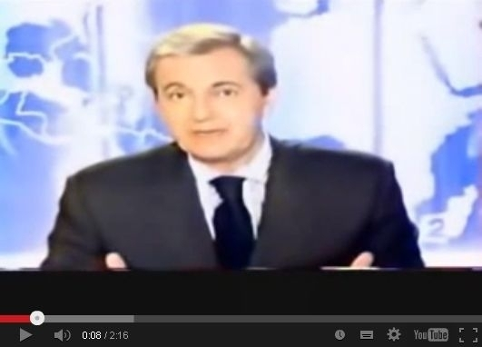France 2 TV News of December 17th, 2003