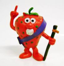 Les Fruittis - Figurine PVC Comics Spain - Fraise