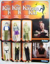 Karat� Kid - ReAction - Set de 6 action figures Daniel Larusso, Mr. Miyagi, Ali Mills, Johnny Lawrence & John Kresse 01