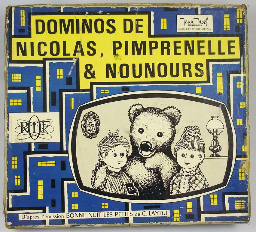bonne nuit les petits jeu de dominos de nicolas pimprenelle nounours jeux no l. Black Bedroom Furniture Sets. Home Design Ideas