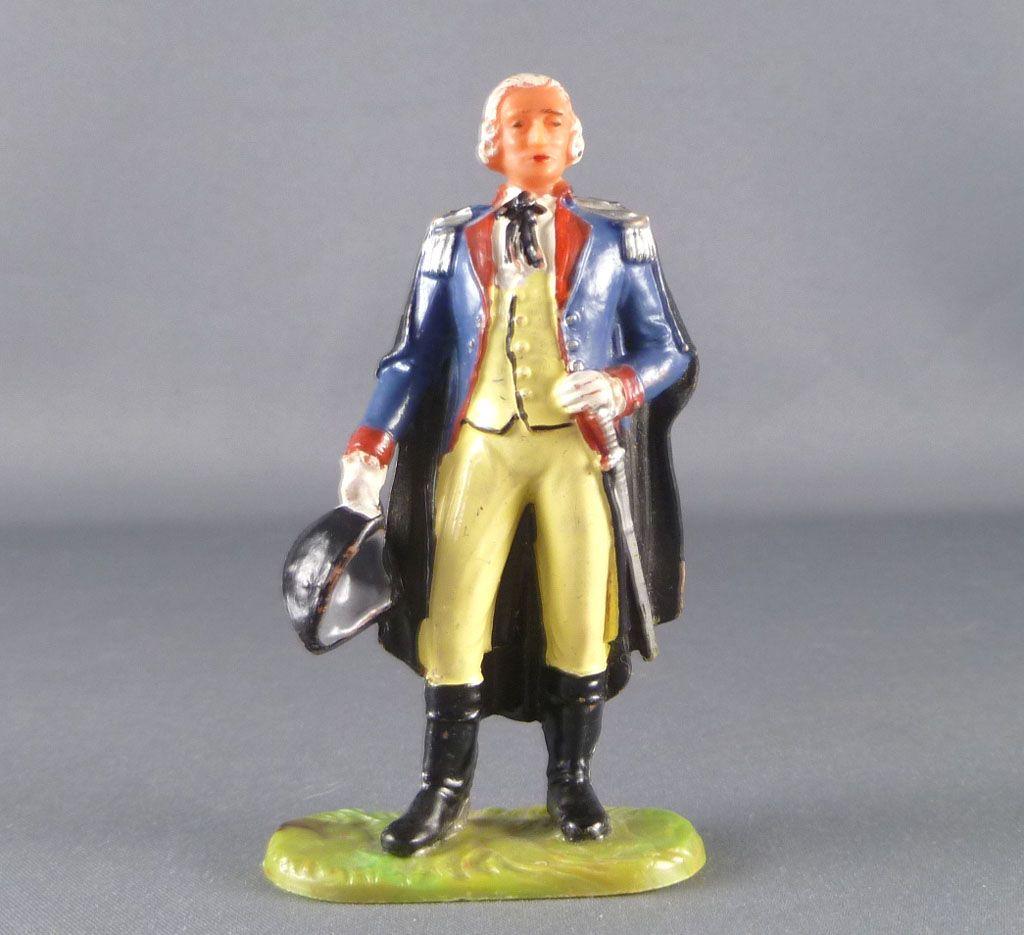 Elastolin - Guerre d'Indépendance - Prussien - Piéton officier (réf 9151)