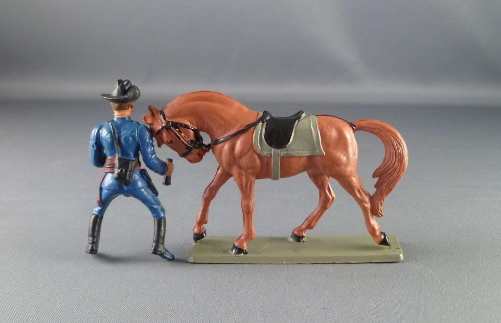 starlux___nordistes___serie_ordinaire___cavalier_officier_jumelles_cheval_marron_tete_baissee_ref_cn5_4