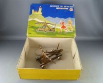 Elastolin - Middle age - Accessories - Catapult (middle size) mint in blue box (ref 891)
