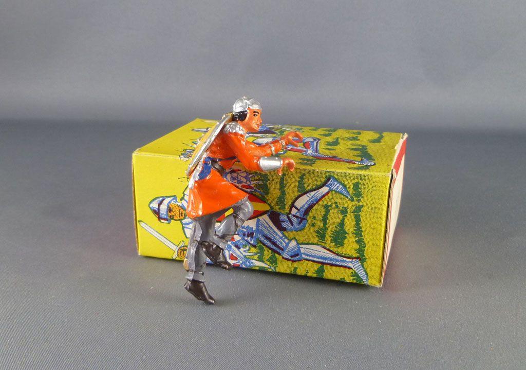 elastolin___moyen_age___pieton_grimpeur_a_l_echelle_orange___bleu_neuf_boite_ref_8832_3