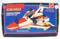 Daitetsujin 17 - Shogun Action Vehicles Mattel - Shigcon jet (loose in box)