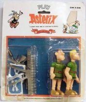 Play Asterix - Roman Legionnaires Appelmus & Pampelmus - Toy Cloud (ref.6216) - Carded