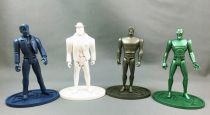 Speed Racer - ReSaurus Action Figures (Test Shot / No Prototype) - Speed Racer, Inspector Detector, Racer X, The Assassin