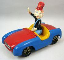 Mickey and friends - Polistil Die-cast Vehicle - Big Bad Wolf (loose)