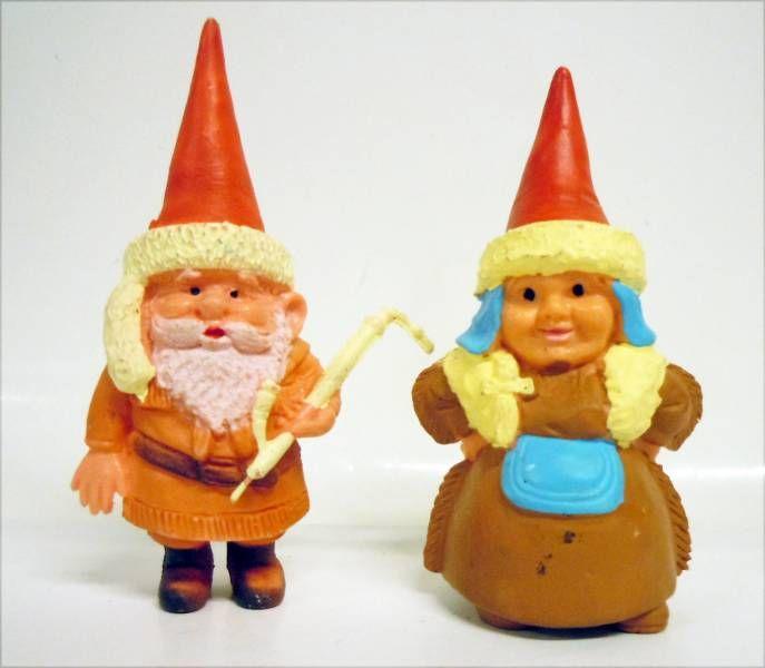 Les aventures de David le Gnome - Figurine PVC - Gnomes Lapons