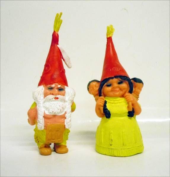 Les aventures de David le Gnome - Figurine PVC - Gnomes Indiens
