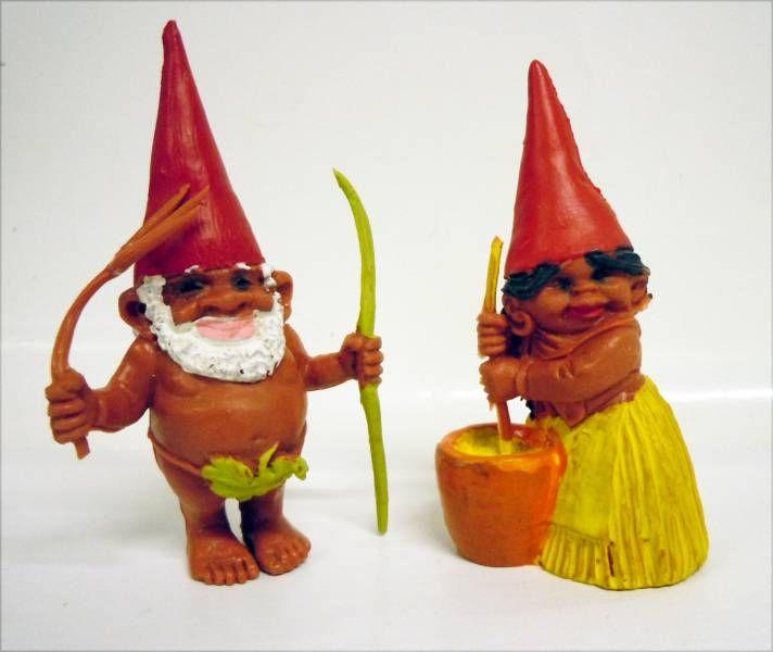 Les aventures de David le Gnome - Figurine PVC - Gnomes Africains