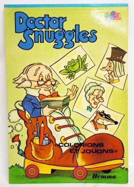 Doctor Snuggles - Editions Hemma - Colorions et  Jouons (livre d'activit�)