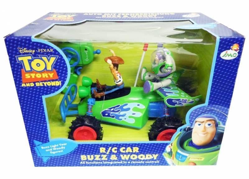 toy story imc toys voiture kartine r c avec buzz woody ebay. Black Bedroom Furniture Sets. Home Design Ideas