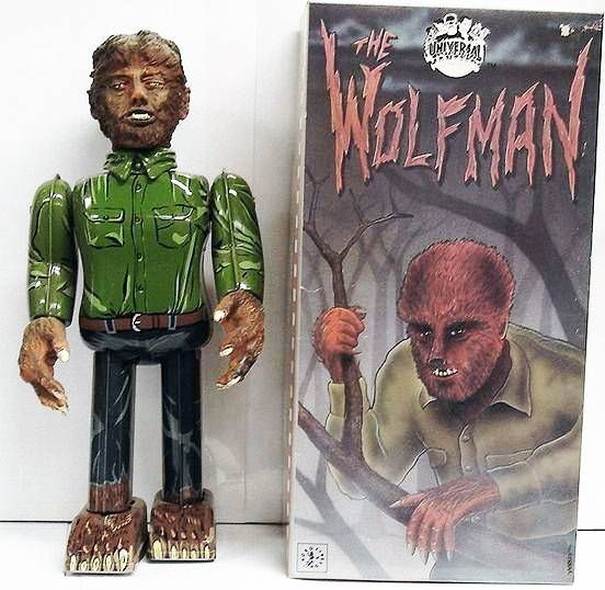 Monstres Universal Studios - Robot House Inc. - The Wolfman wind-up m�tal