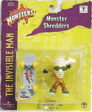 Monstres Universal Studios - Sideshow Toy - Monster Shredders - The Invisible Man