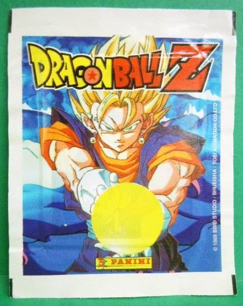 Dragonball Z - Pochette Vignettes Panini 1989