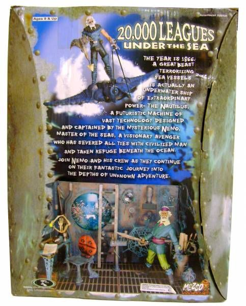 20,000 Leagues Under The Sea: Wave Rider Nemo - Mezco 2001