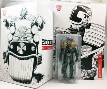 2000 A.D. - 3A 1:12 scale action-figure - Judge Dredd & Lawmaster Mk1