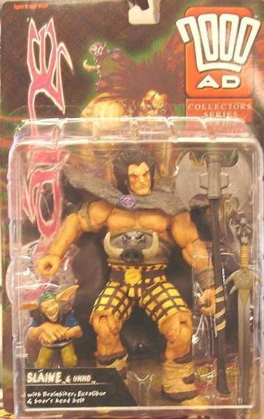 2000 A.D. - Reaction Figures - Slaine & Ukko