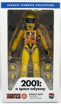 """2001 A Space Odyssey - Medicom Mafex 6\"""" action figure - Space Suit (Yellow ver.)"""