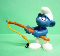 20101 Fisherman Smurf (ochre fishing rod)
