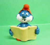 20174 Papa Smurf with magical book (not marked edge)