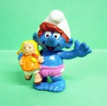 20446 Little Smurfette with doll