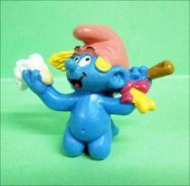 20448 Little Smurfette in bath