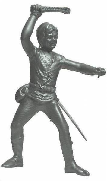 Thierry la Fronde , Figurine Plastique souffl� , Thierry