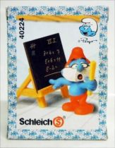 40224 PaPa Smurf teacher (Mint in New Look Box)