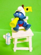 40242 Smurf Bay Watcher (yellow flag)