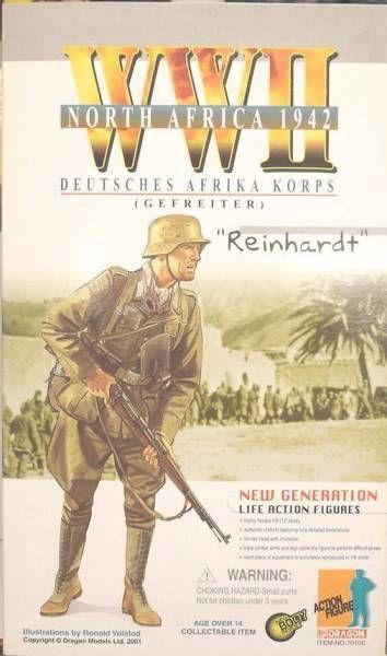 REINHARDT  Deutsh Afrika Corp Gefreiter North Africa 1942