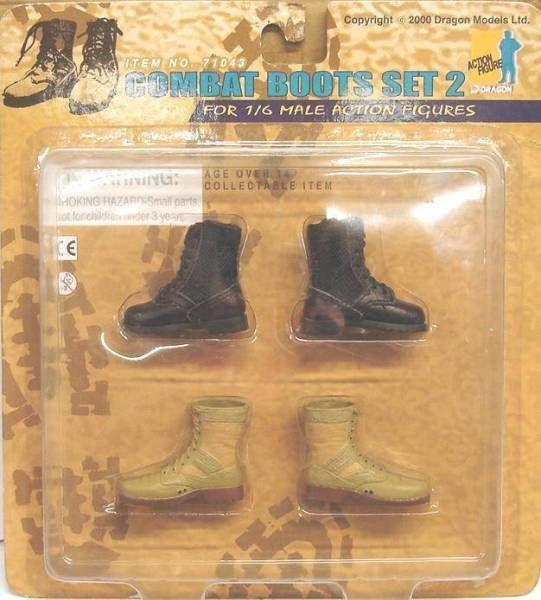 Combat Boots Set 2