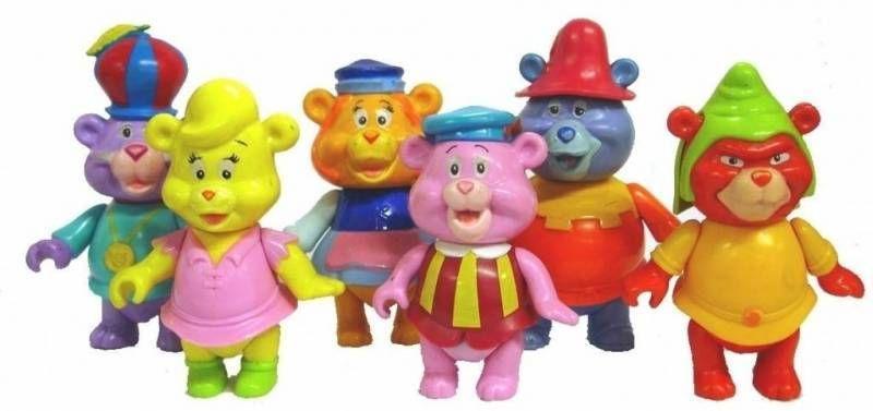 Les Gummi - S�rie de 6 figurines articul�es