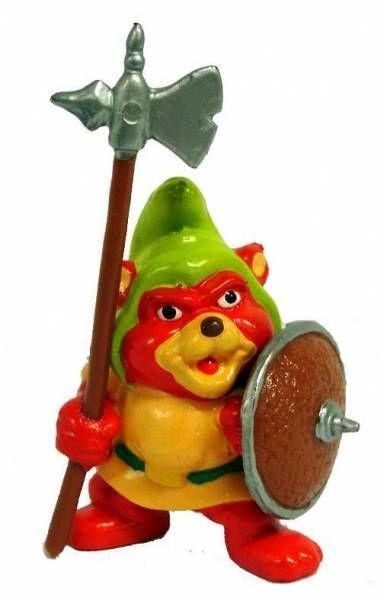 Les Gummi - Gruffi avec Hallebarde  - Figurine PVC Schleich