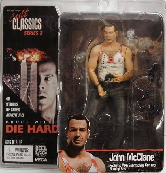 Die Hard - John McClaine (Bruce Willis) - Figurine Cult Classics