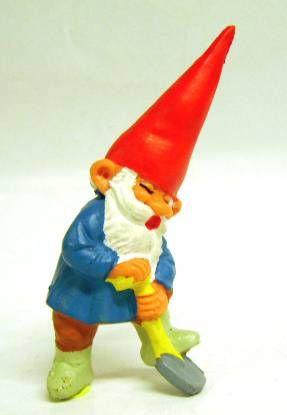 Les aventures de David le Gnome - Figurine PVC - David avec une b�che