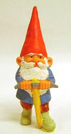 Les aventures de David le Gnome - Figurine PVC - David avec une Pioche