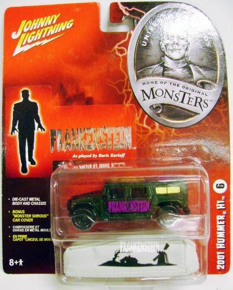 Johnny Lightning - Universal Studio : Home of the original Monsters - Frankenstein: 2001 Hummer H1