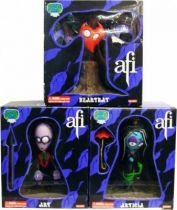 A Fire Inside - Set of 3 vinyl figures : Art, Articia & Heartbat - SEG