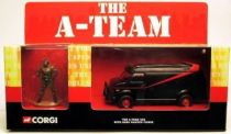 A-Team - Corgi Mint in box vehicule - Tactical Van with B.A. Barracus figure