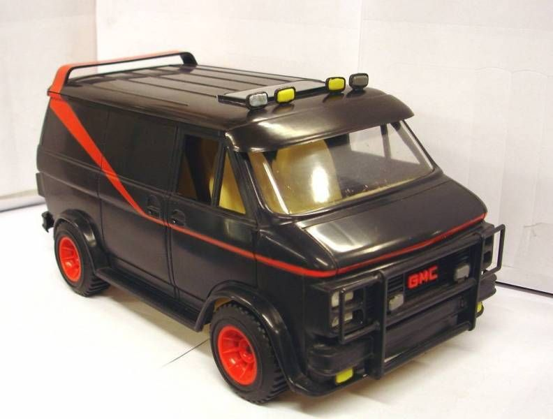A-Team - Galoob Loose vehicule - A-Team - Galoob Loose vehicule - Tactical Van Playset with A-Team