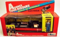 A-Team - Galoob Mint in box vehicule - Patrol Boat with Hannibal Smith