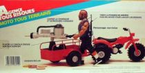 A-Team - Galoob Mint in box vehicule - Quad with Canon