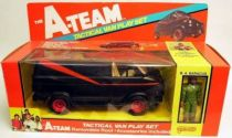 A-Team - Galoob Mint in box vehicule - Tactical Van Playset with B.A. Baracus