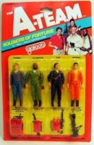 A-Team - Galoob Mint on card action figure - Sodiers of fortune - set of 4
