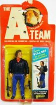 A-Team - Galoob Mint on card Action Figure - Tempelton Peck  \'The Face\'