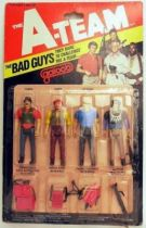 A-Team - Galoob Mint on card Action Figure Bad Guys - set of 4