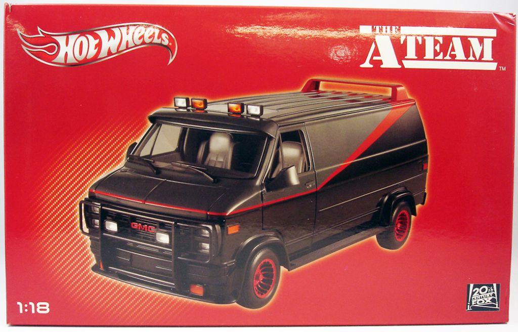A-Team - Mattel Hot Wheels Elite - A-Team Van 1/18ème