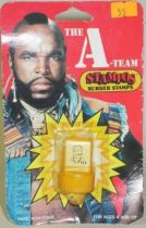A-Team - Merchandising Mint on card rubber stamps  - Hannibal